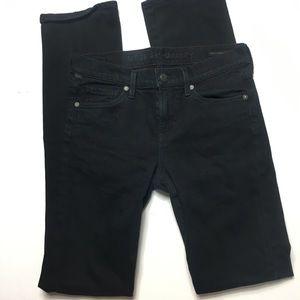 C of H Elson straight leg black jeans
